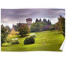 Medici Fortress of Volterra Poster