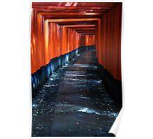 Fushimi Inari, Kyoto Poster