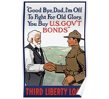 I'm Off To Fight For Old Glory -- WWI Poster