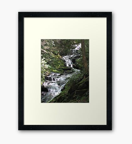 Waterfalls - North Carolina Framed Print