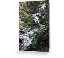Waterfalls - North Carolina Greeting Card