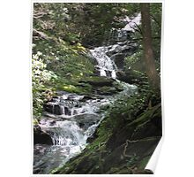 Waterfalls - North Carolina Poster