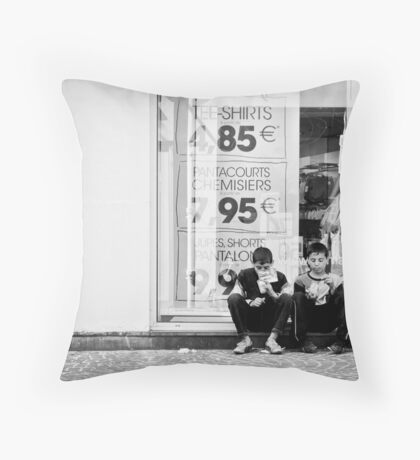 The sky is our roof Throw Pillow