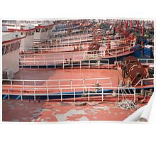 Boat Decks Poster