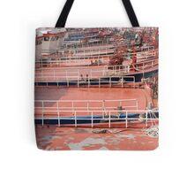 Boat Decks Tote Bag