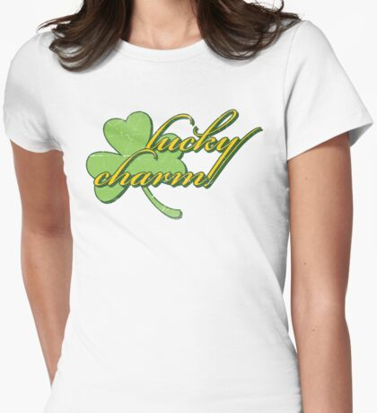 Lucky Charm Womens Fitted T-Shirt