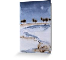 Walking Through Winterland Greeting Card