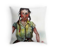 The Shiner Throw Pillow
