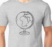 Simple Globe Graphic Unisex T-Shirt