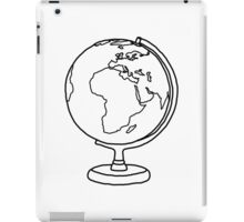 Simple Globe Graphic iPad Case/Skin