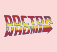 Back to Doctor Who Mash Up  One Piece - Long Sleeve