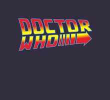Back to Doctor Who Mash Up  T-Shirt