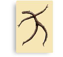 Stick Figure   Canvas Print