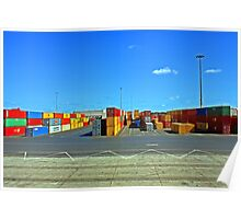 Container Port Poster
