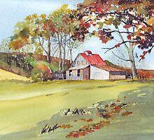 Beautiful Barn by Val Spayne