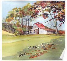 Beautiful Barn Poster