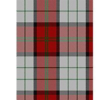 00472 Bull-Dog Sauce Tartan  Photographic Print
