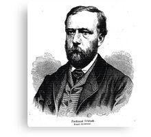 Friedrich Kriehuber Ferdinand Urbanek 1869 Canvas Print