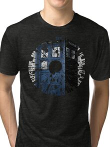 Doctor Who Quotes Tardis  Tri-blend T-Shirt