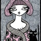 Powder Puff Jasmine by Anita Inverarity