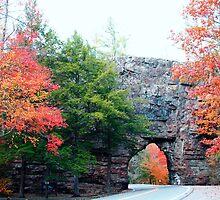 """Backbone Rock - """"Worlds Shortest Tunnel"""" by Annlynn Ward"""
