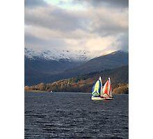 Winter sail Photographic Print