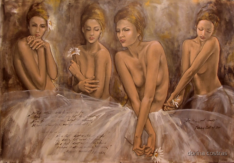 Daisies...and doubts by dorina costras