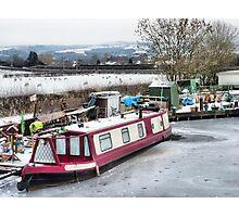 Lancaster Canal at Garstang  Photographic Print