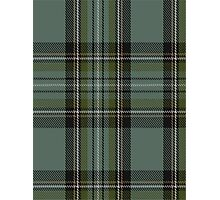 00475 Blue Cavalier Fashion Tartan  Photographic Print
