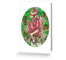 strawberry charlotte Greeting Card
