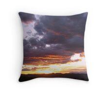 and Another....Desert Sunset Throw Pillow