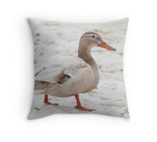 Pale In Comparison Throw Pillow