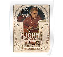 John Watson Art Nouveau Poster