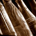 Vintage Glass Soda Bottles by IndigoBleue