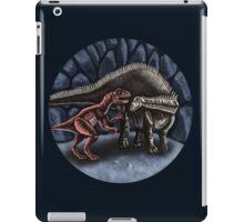 Allosaurus and Diplodocus iPad Case/Skin