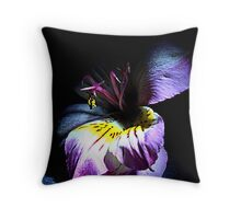 Out of the shadow Throw Pillow