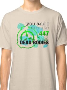 SCP-447 and Dead Bodies Classic T-Shirt