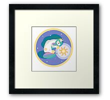 Playing The Sun Framed Print