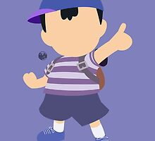Ness (Blue) - Super Smash Bros. by samaran