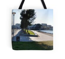 Panorama of San Francisco Giants Tote Bag