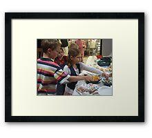 Buffet Framed Print