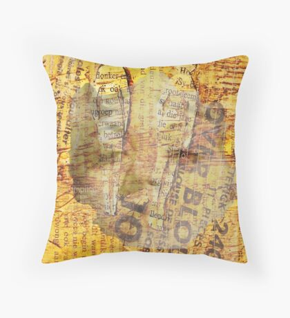 Lonely faces, 2009 Throw Pillow
