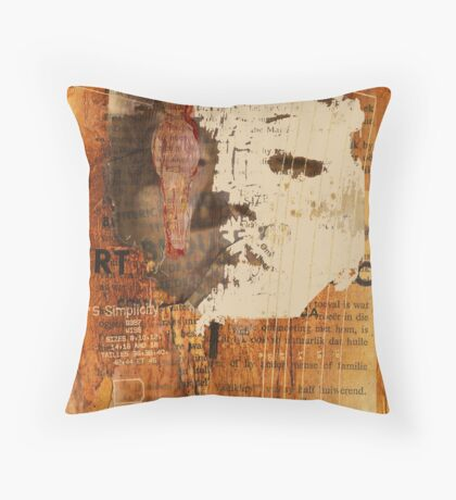 lonely girl, 2009 Throw Pillow