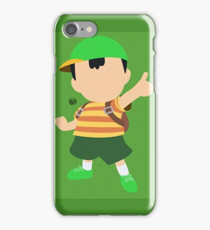 Ness (Green) - Super Smash Bros. iPhone Case/Skin