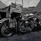 Harley-Davidson WLA by Peter Lawrie