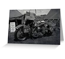 Harley-Davidson WLA Greeting Card
