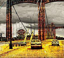 Minneapolis - Over The Bridge by susan stone
