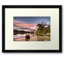 Ps Marion Sunrise Framed Print