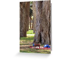 ~ Afternoon Tree Time ~  Greeting Card