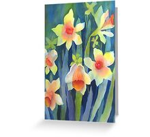 Daffydown Dillies (early spring) Greeting Card